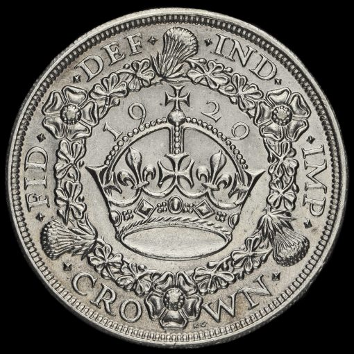 1931 George V Silver Wreath Crown Reverse