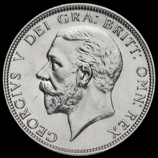 1930 George V Silver Florin Obverse