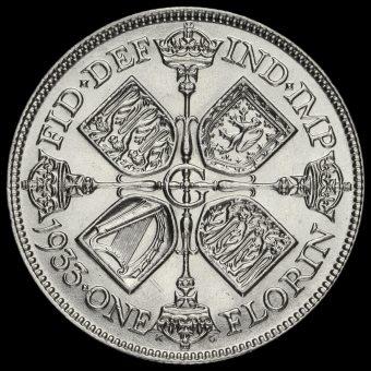 1933 George V Silver Florin Reverse