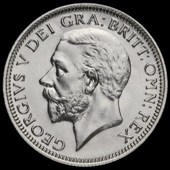 1936 George V Silver Shilling Obverse