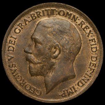 1919 George V Penny Obverse