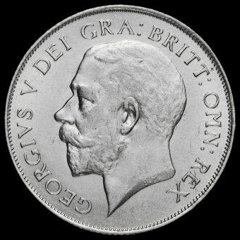 1921 George V Silver Shilling Obverse