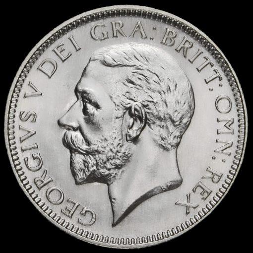 1926 George V Silver Shilling Obverse