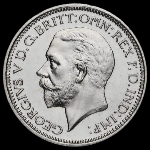 1934 George V Silver Maundy Fourpence Obverse