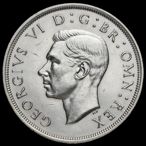 1937 George VI Coronation Silver Crown Obverse