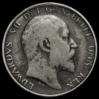 1903 Edward VII Silver Shilling Obverse
