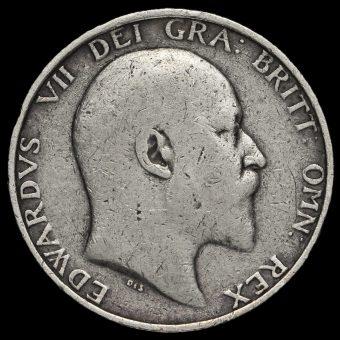1904 Edward VII Silver Shilling Obverse