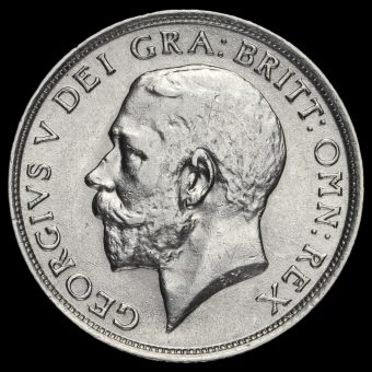 1912 George V silver Shilling Obverse