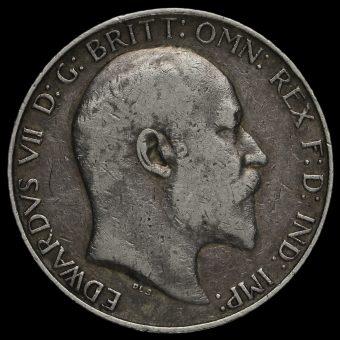 1902 Edward VII Silver Florin Obverse