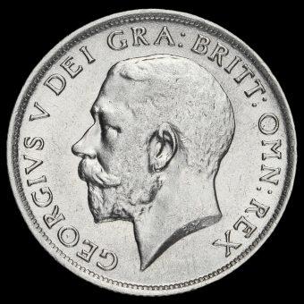 1916 George V Silver Shilling Obverse