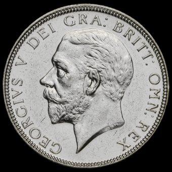 1927 George V Silver Florin Obverse