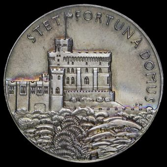 1935 George V Official Silver Jubilee Medal Reverse