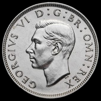 1950 George VI Proof Florin Obverse