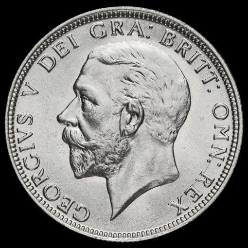 1928 George V Silver Florin Obverse