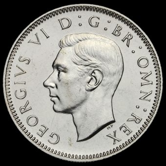 1950 George VI Proof Scottish Shilling Obverse