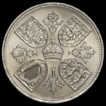 1953 Queen Elizabeth II Coronation Crown Reverse