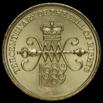 1989 Elizabeth II £2 Coin Reverse
