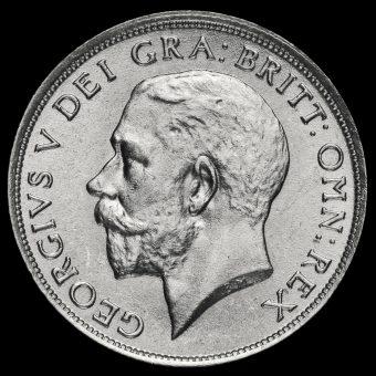 1920 George V Silver Shilling Obverse