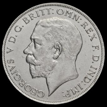 1921 George V Silver Florin Obverse