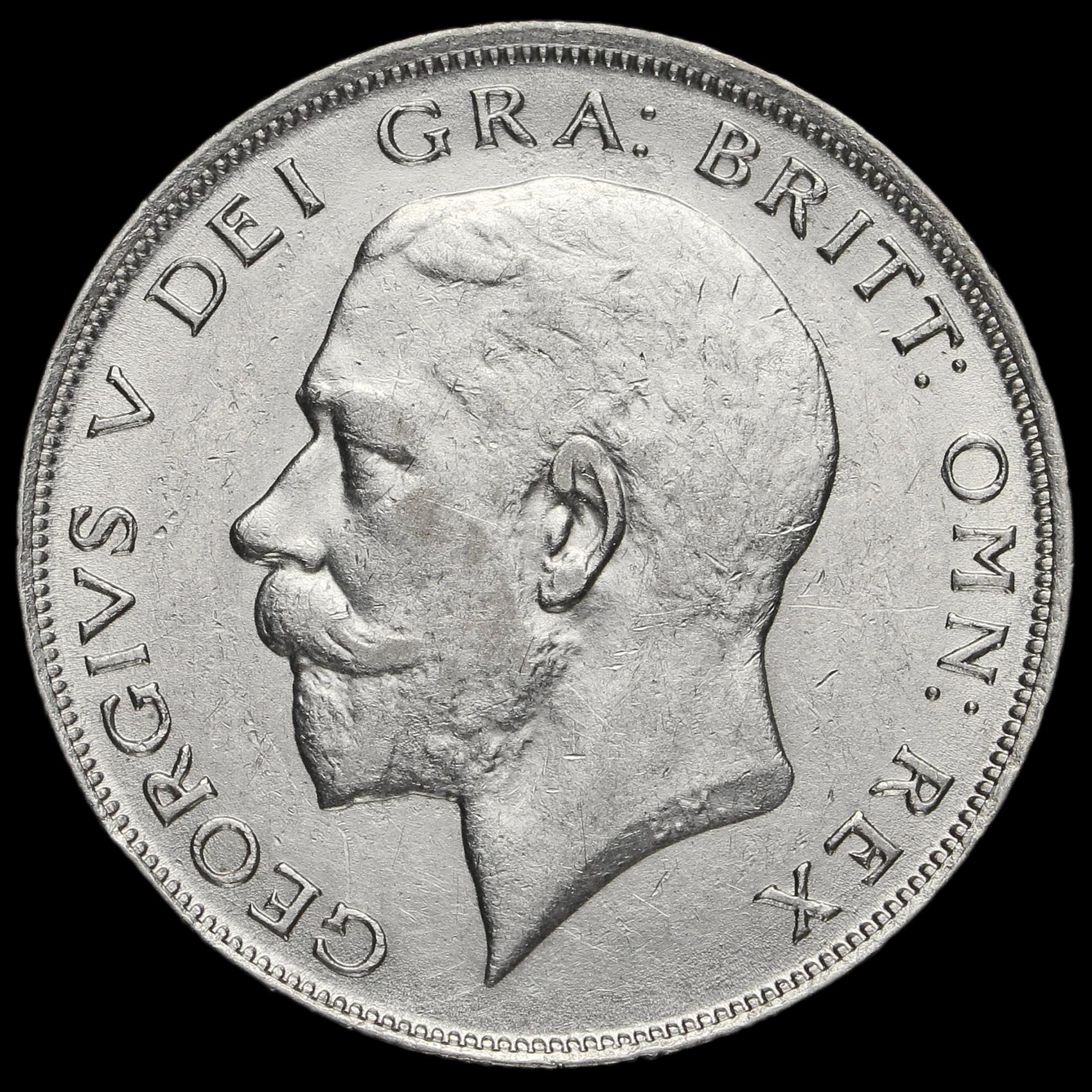 silver half crown coin