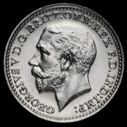 1924 George V Silver Maundy Twopence Obverse