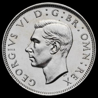 1951 George VI Proof Florin Obverse