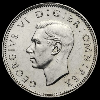 1951 George VI Proof Scottish Shilling Obverse