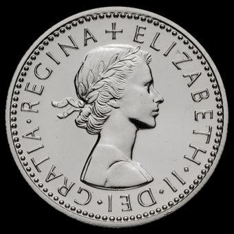 1970 Elizabeth II Proof Sixpence Obverse