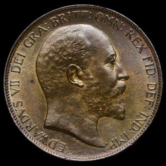 1903 Edward VII Penny Obverse