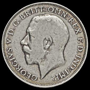 1913 George V Silver Florin Obverse
