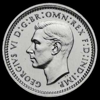 1937 George VI Silver Maundy Twopence Obverse