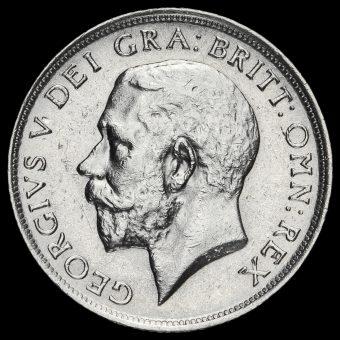 1914 George V Silver Shilling Obverse