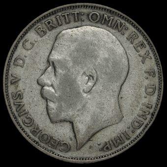 1925 George V Silver Florin Obverse