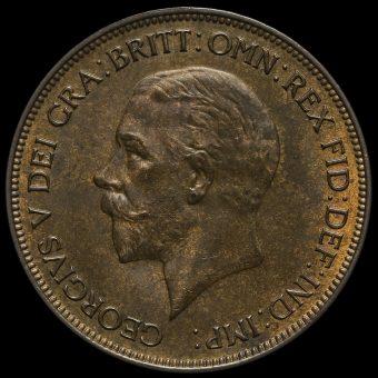 1932 George V Penny Obverse