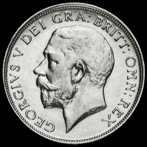 1913 George V Silver Shilling Obverse