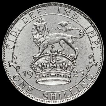 1925 George V Silver Shilling Reverse