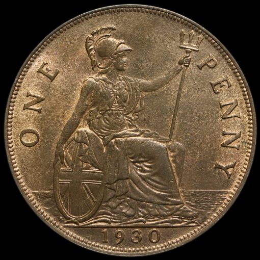 1930 George V Penny Reverse