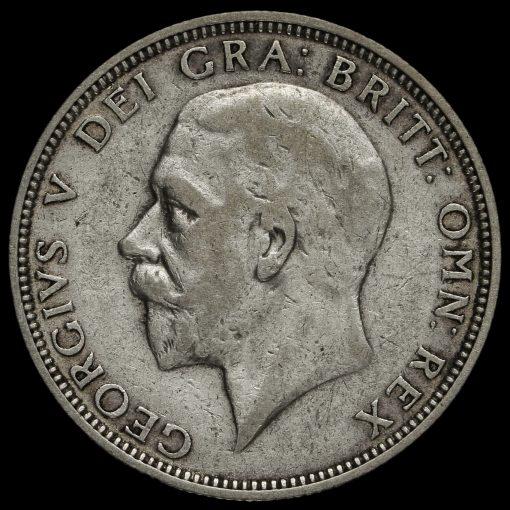 1932 George V Silver Florin Obverse