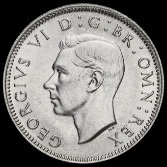 1942 George VI Silver Scottish Shilling Obverse
