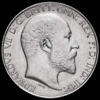 1903 Edward VII Silver Florin Obverse