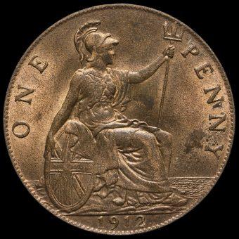 1912 George V Penny Reverse