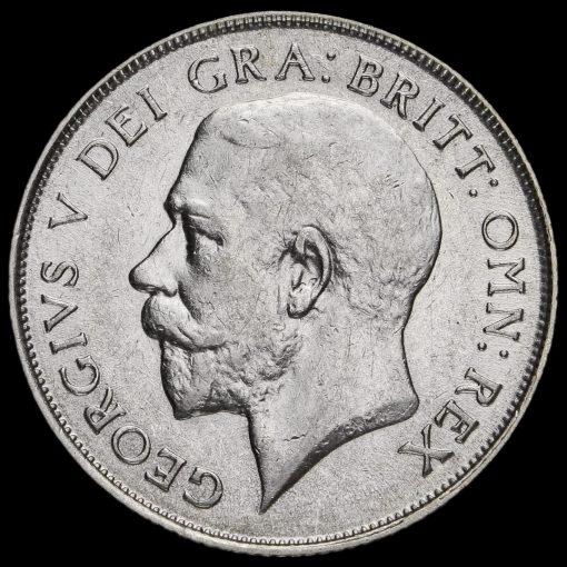 1924 George V Silver Shilling Obverse