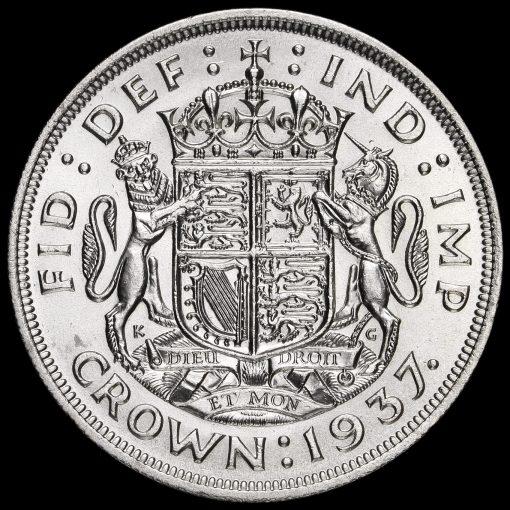1937 George VI Coronation Silver Crown Reverse