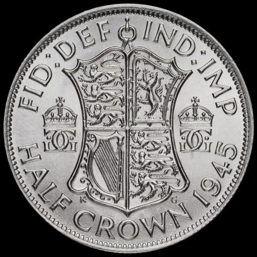 1945 George VI Silver Half Crown Reverse