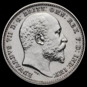 1904 Edward VII Silver Maundy Fourpence Obverse