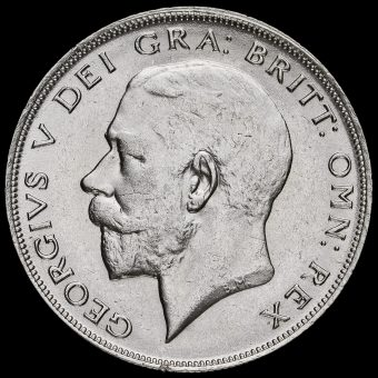 1922 George V Half Crown Obverse