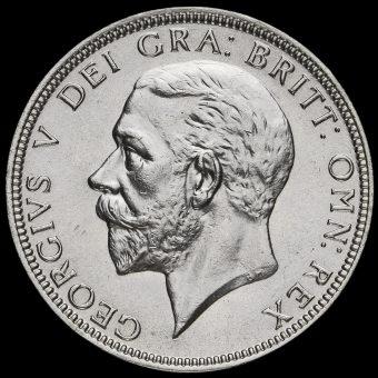 1933 George V Silver Florin Obverse