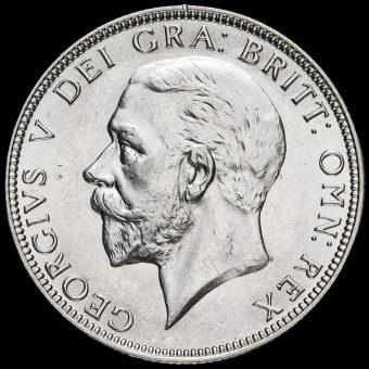 1936 George V Silver Florin Obverse
