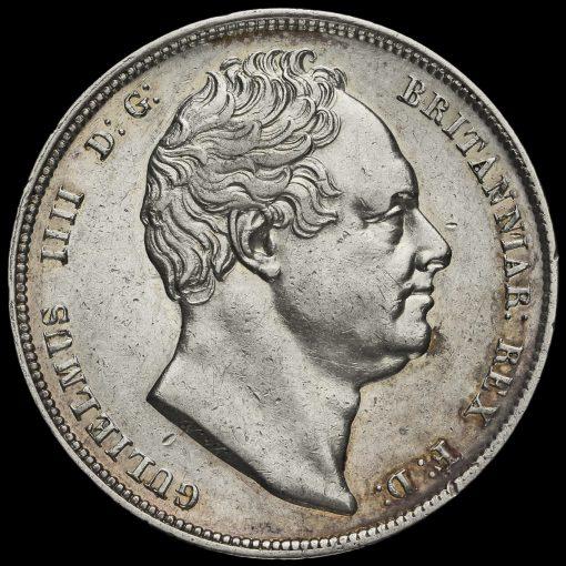 1834 William IV Milled Half Crown Obverse