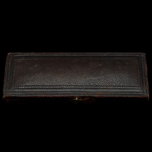 1871 Queen Victoria Young Head Silver Maundy Set Case